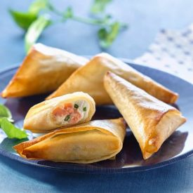 Recipe of ocean samosa with brick sheets